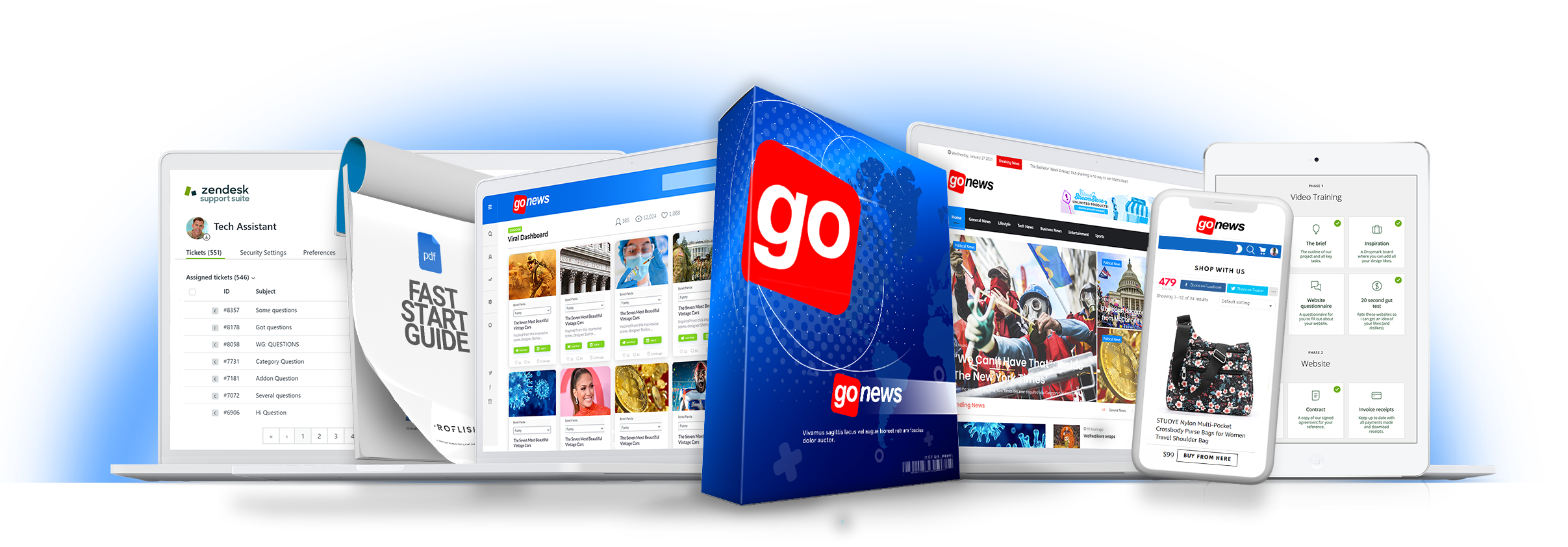GoNews Review – 3 Steps to earn passive, recurring income